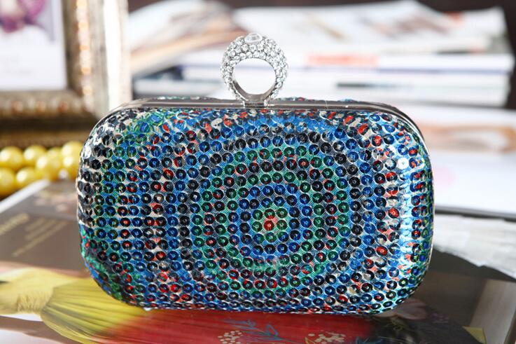 Party Purse Evening-Bag Day-Clucth-Bag Glitter Casual Clutch Fashion Women Lady Girl