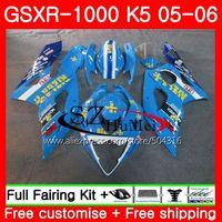Средства ухода за кожей Работа для Suzuki GSX R1000 K5 GSXR1000 05 06 Средства ухода за кожей 37hs16 gsxr 1000 GSXR 1000 05 06 GSX R1000 2005 2006 обтекатели rizla синий