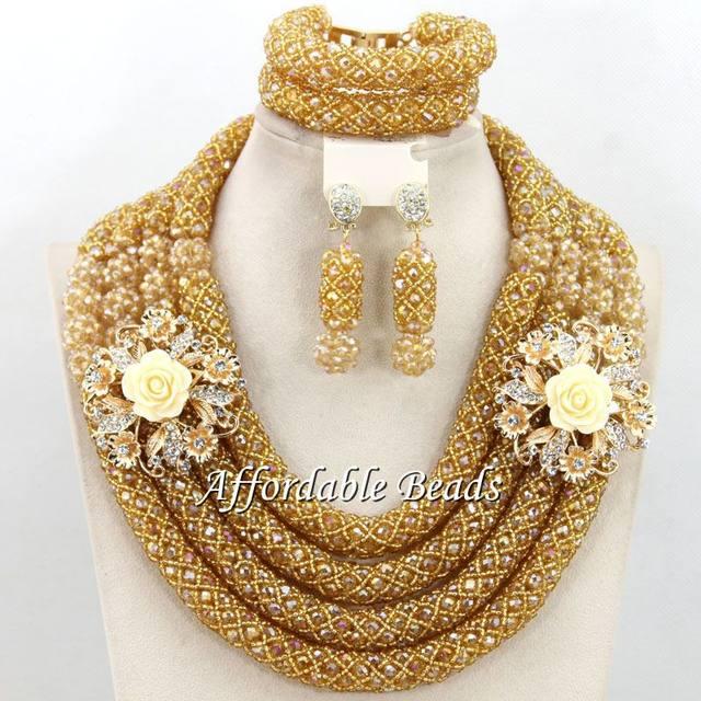 line Shop Hot Dubai Gold Jewelry Set Nice African Jewelry Set