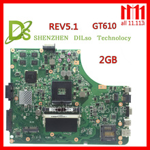 KEFU K53SD HOT For Asus K53SD motherboard REV 5 1 laptop motherboard with Graphics card GT610M