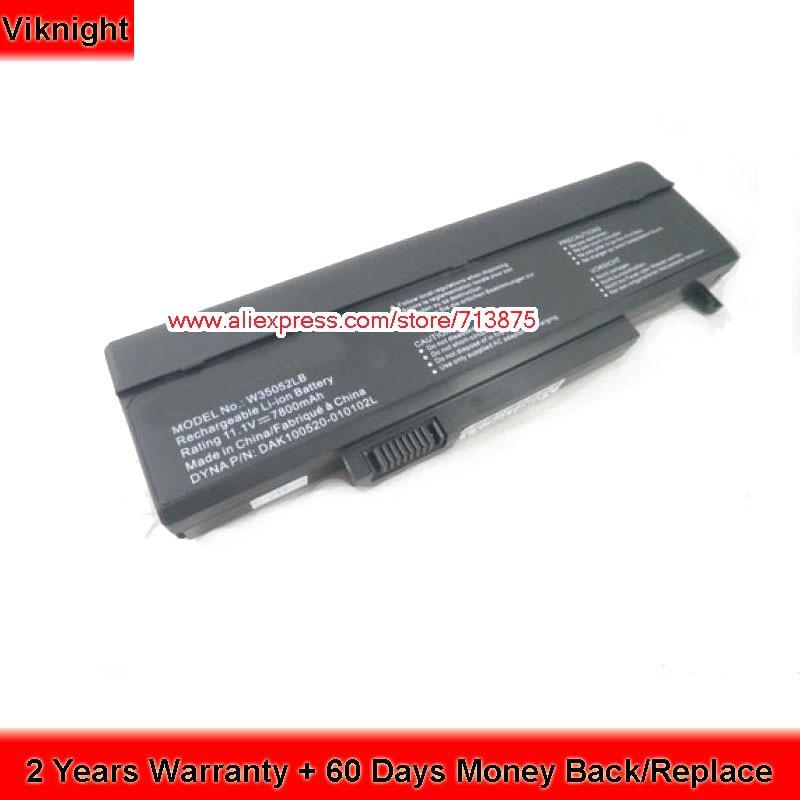 SQU-720 7800mah Laptop Battery For Gateway FX MS2252 SQU-715 SQU-719 SQU-721 limoni 007 holiday 720 721 722