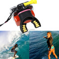 Gopro Accessories Gopro Mouth Mount Adapter+Float+3M For Go Pro Hero 4 3 3+ SJ4000 Xiaoyi Camera Fit Surfing and Diving Sports