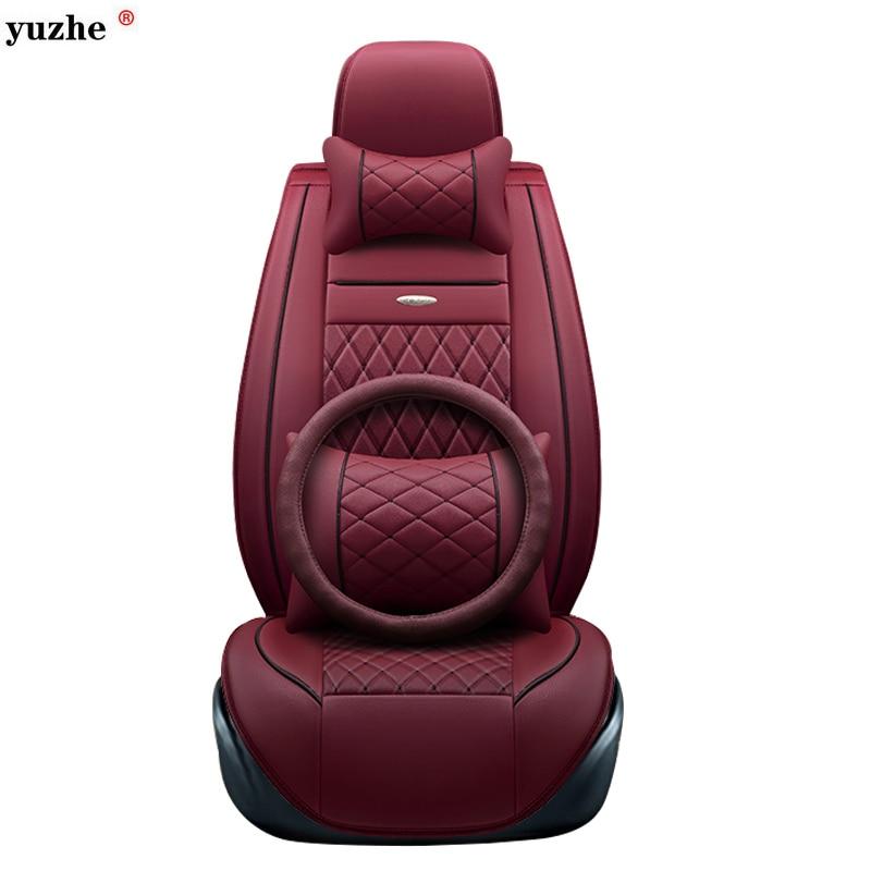Yuzhe leather car seat cover For Toyota Honda Nissan Mazda Lexus Jeep Subaru Mitsubishi Suzuki Kia Hyundai Ssangyong accessories источник света для авто eco fri led 31 t10 w5w honda acura hyundai isuzu kia lexus mazda 6 x