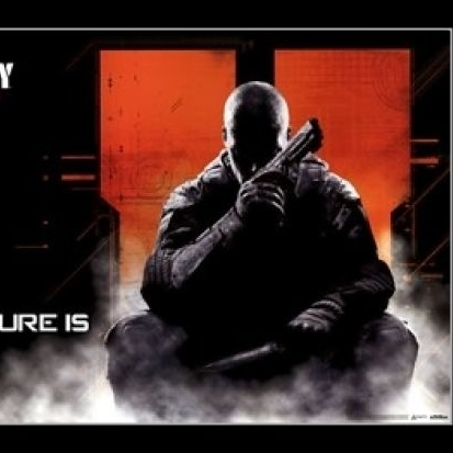Call of Duty Black Ops II – Future is Black Laminated & Framed Poster Print (36 x 24)