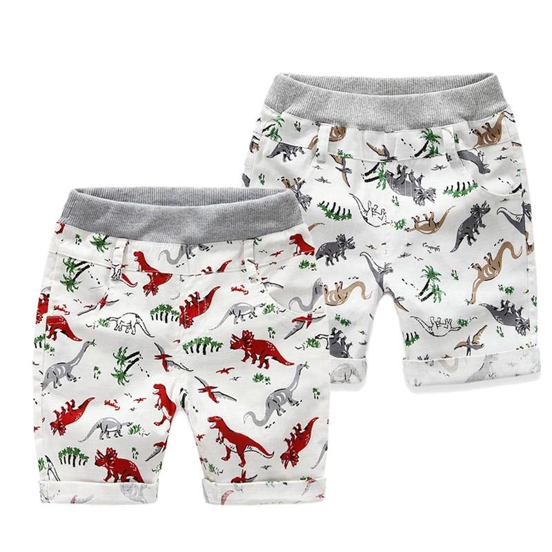 2 7 Ages Boys Shorts Summer Children Beach Wear Printing Pattern Boys Pants Kids Boys Character