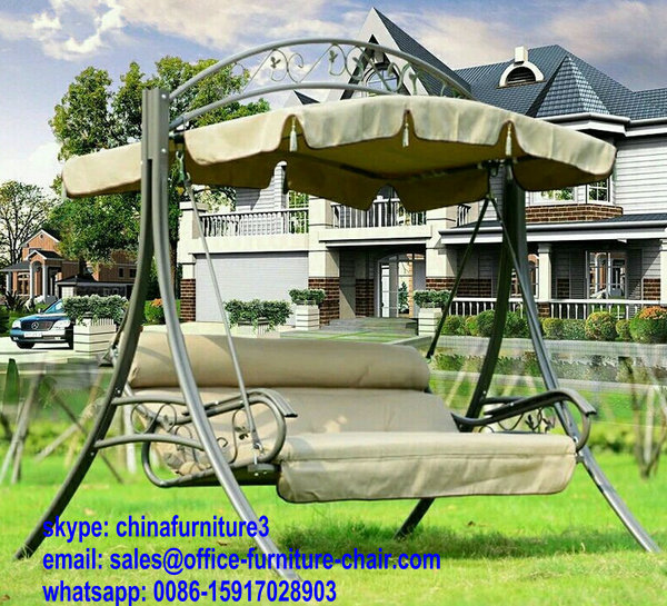 Double Seat Lounge Hanging Basket Garden Chair Furniture Outdoor