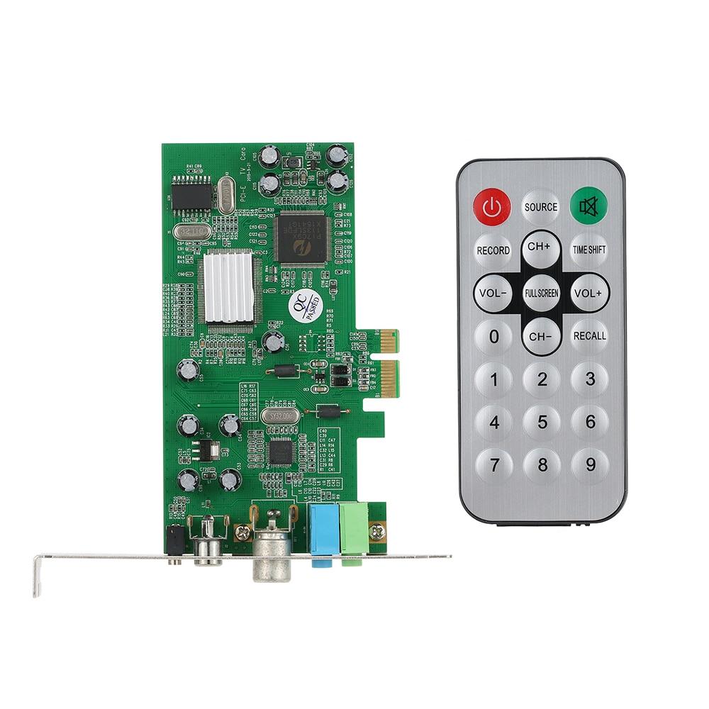 PCI E Internal TV Tuner Card MPEG Video DVR Capture Recorder PAL BG PAL I NTSC
