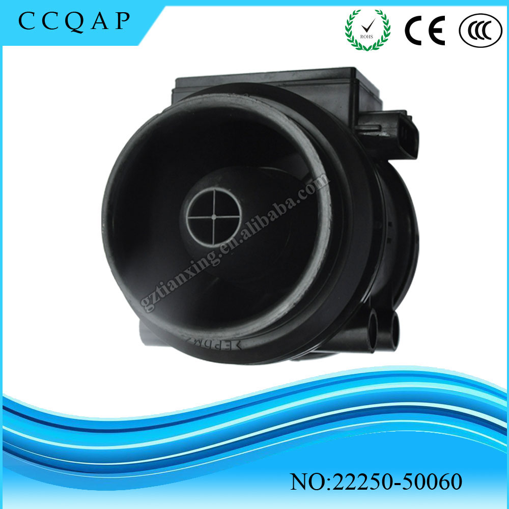 ФОТО High quality Mass Air Flow Meter Sensor 22250-50060 For Lexus LS400 SC400 4.0 1UZFE