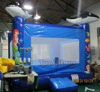 Inflatable bouncy slide with factory price,inflatable bouncer house.