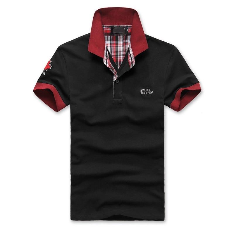 Brand Men's POLO Shirt Beard Casual Polo Printed Embroidered Men's Shirt High Quality Short Sleeve Lapel Shirt;YA285