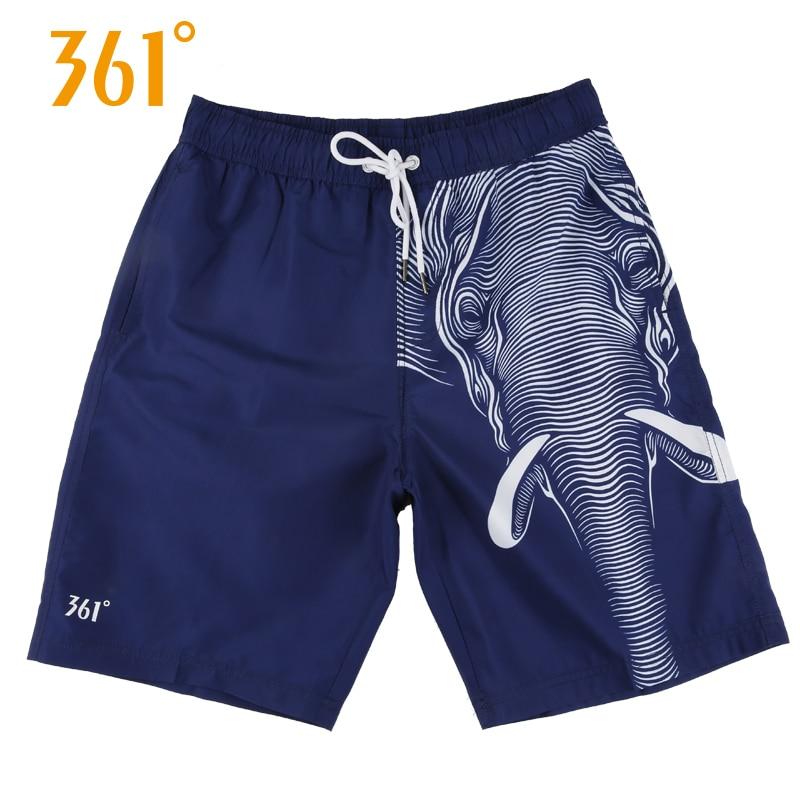 361 Summer Beach   Shorts   Men Vocation Casual Sport Swimwear   Short   Pants Blue Beach   Board     Shorts   Pool Hot Spring Surfing Trunks