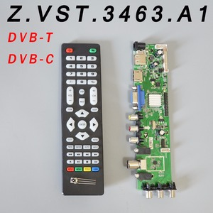Z.VST.3463.A1 V56 V59 Universal LCD Driver Board Support DVB-T2 Universal TV Board(China)