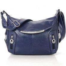 Women Messenger Bags Hobos Women Bag PU Leather Crossbody Bags Women Shoulder Bag Ladies  Handbags Bolsos  C40-156