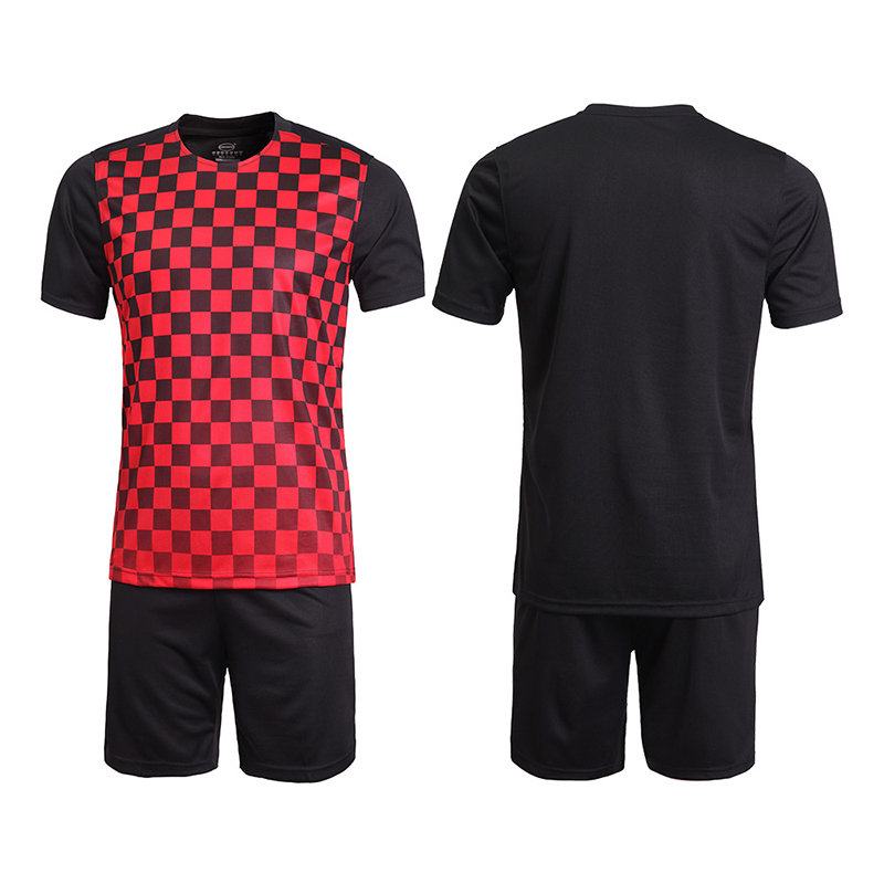 Wholesale cheap soccer jerseys in stock sportswear polyester Comfortable soccer  uniforms sets mens thailand football shirts-in Soccer Sets from Sports ... 44195c890