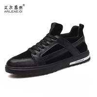 Men Skateboarding Shoes 2017 New British Style Male Canvas Shoes Fitness Sneakers Men Low Flats Sport