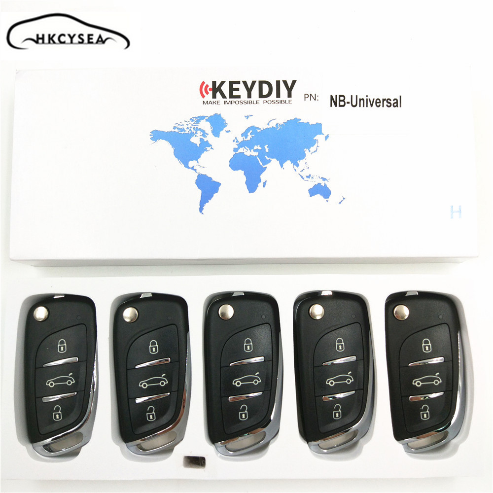 5PCS/LOT 3 Button KD NB Series Universal Multifunctional DS Style Remote Work with URG200/KD900/KD200 Machine