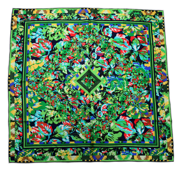 ELEGANT HANDMADE BRAND 100%Twill Silk Scarf TWIC-67156