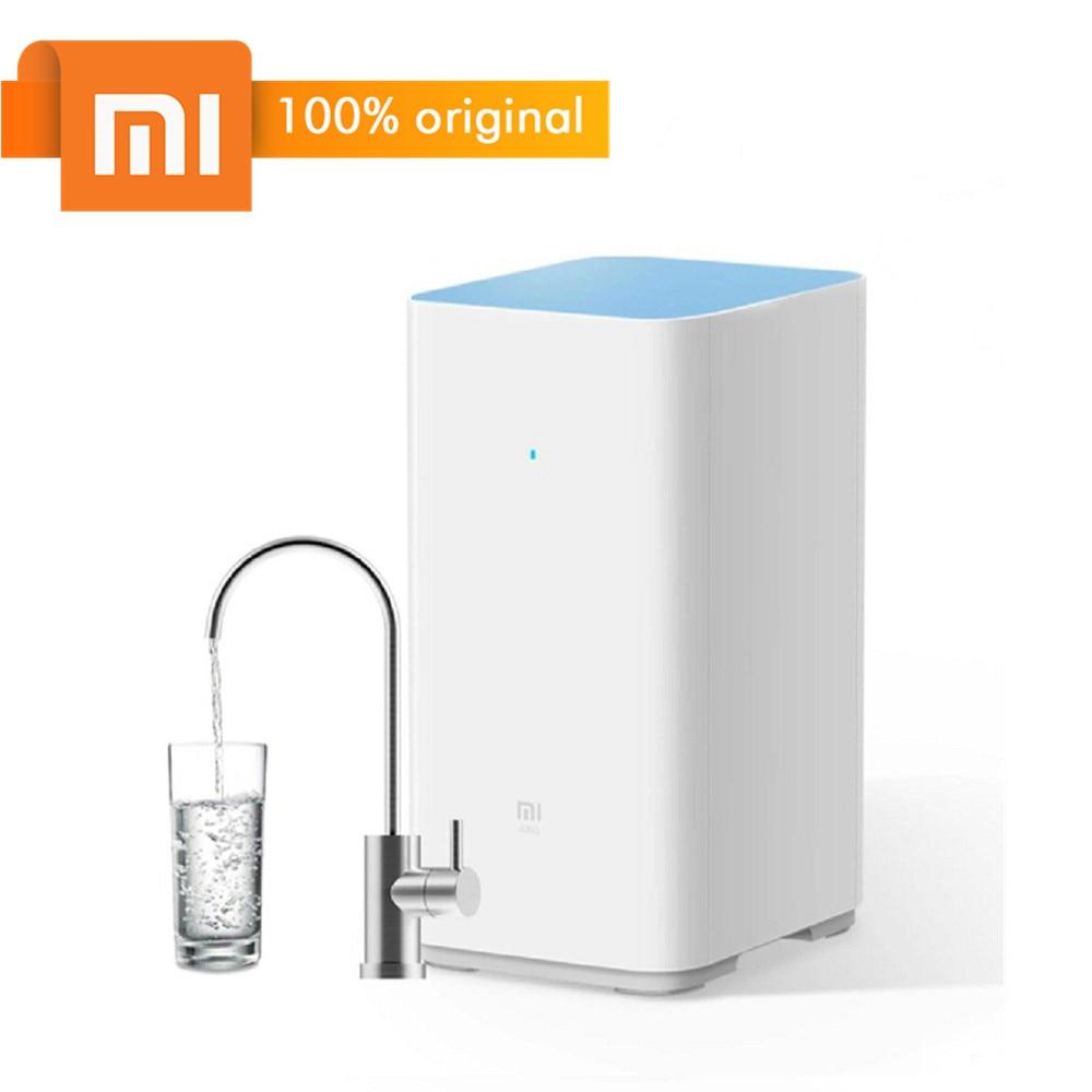 Original Xiaomi Mi purificador de agua filtros de riego soporte RO purificación tecnología 1200L 400 galones purificador de agua de alto flujo