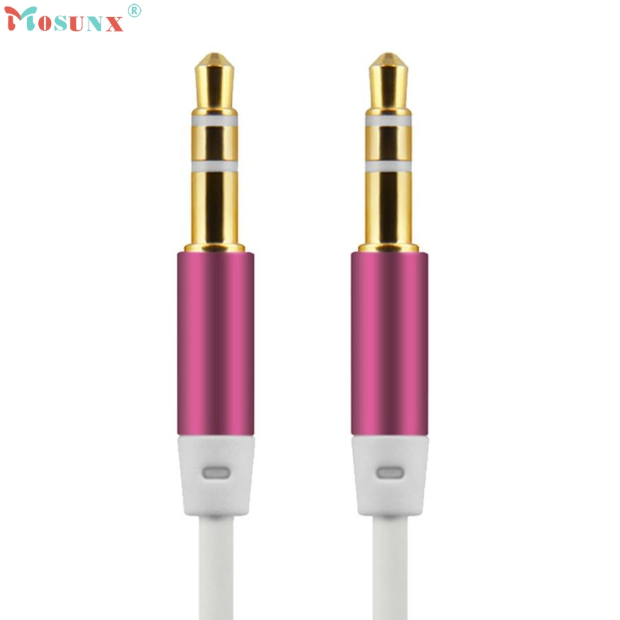 Adroit 2016 New 100cm 3.5mm Stereo Audio Cable Male To Male Headset Extension Adapter 1M May12  adroit 2016 new 1pc usb 3 0 type a male to micro b male extension cable cord adapter 50cm 100cm 180cm may12 drop shipping