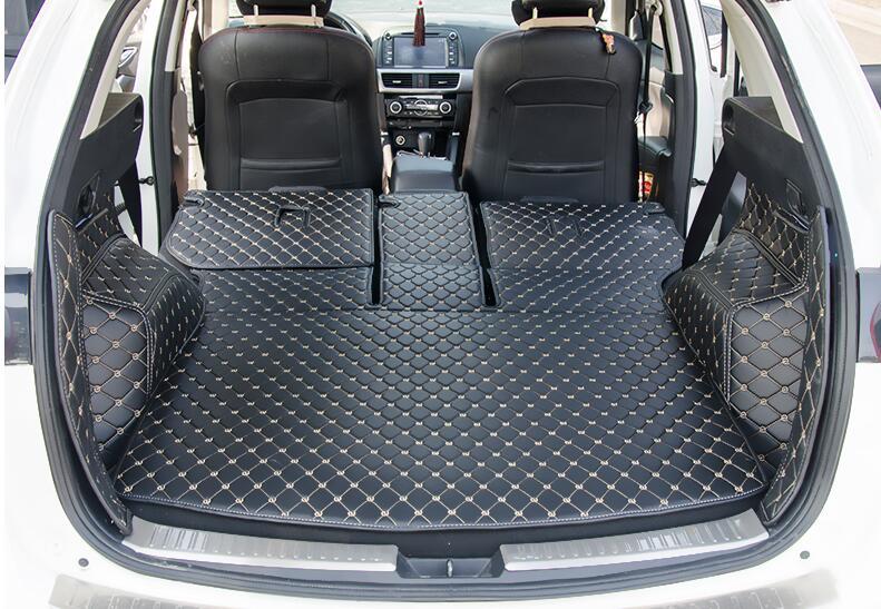 Haute qualité Arrière Complet Plateau de Coffre Liner Cargo Floor Mat Protecteur pied pad tapis cas pour MAZDA CX-5 CX5 2015 2016 accessoires