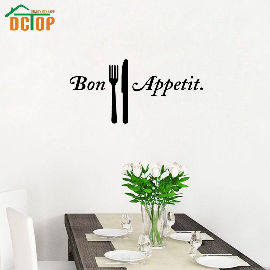 Bon Appetit Coltelli E Forchette Cucina Adesivi Per Piastrelle A ...