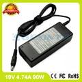 19 В 4.74A 90 Вт ac адаптер питания для Samsung ноутбук зарядное устройство RV515l RV511 RV513 RV515 RV518 RV520 RV520E RV520I RV540E RV540I RV709