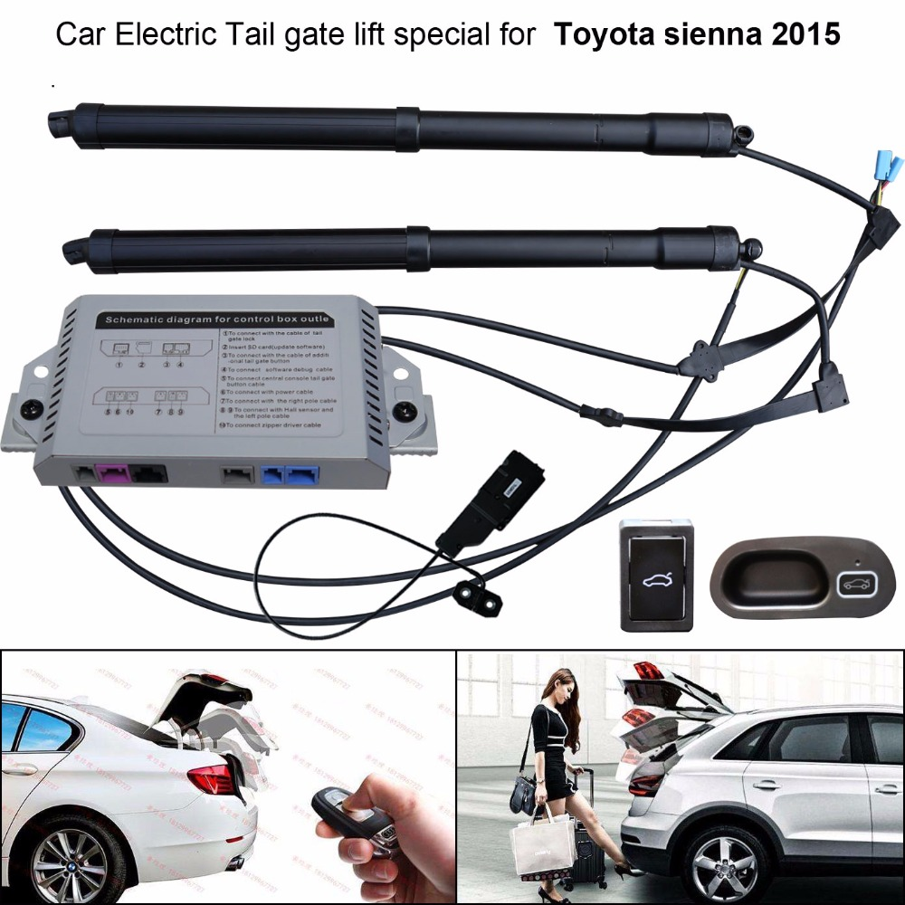 Auto  Car Electric Tail Gate Lift Special For Toyota Sienna 2015 Easily For You To Control Trunk