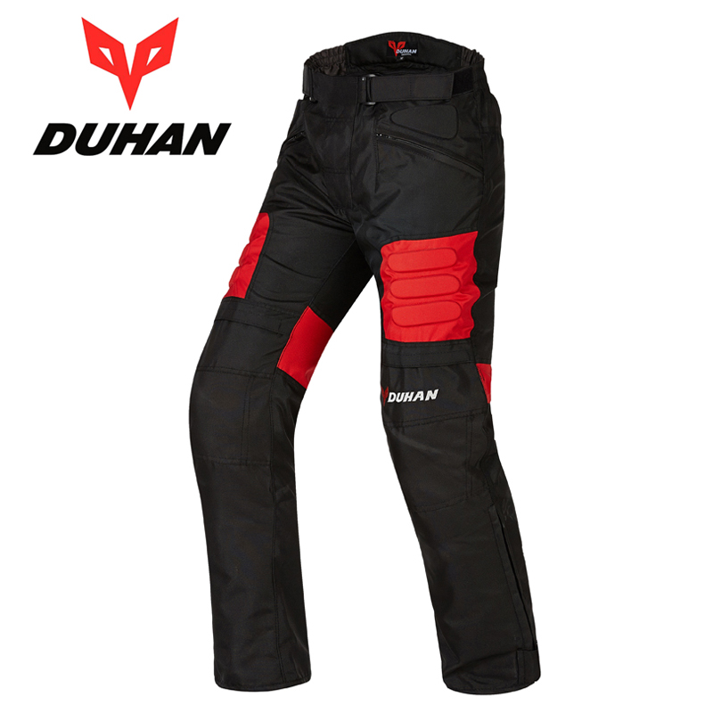 DUHAN Men Off road Racing Pants Men Motorcycle Motocross Riding Pants Breathable Male Motorbike Trousers With