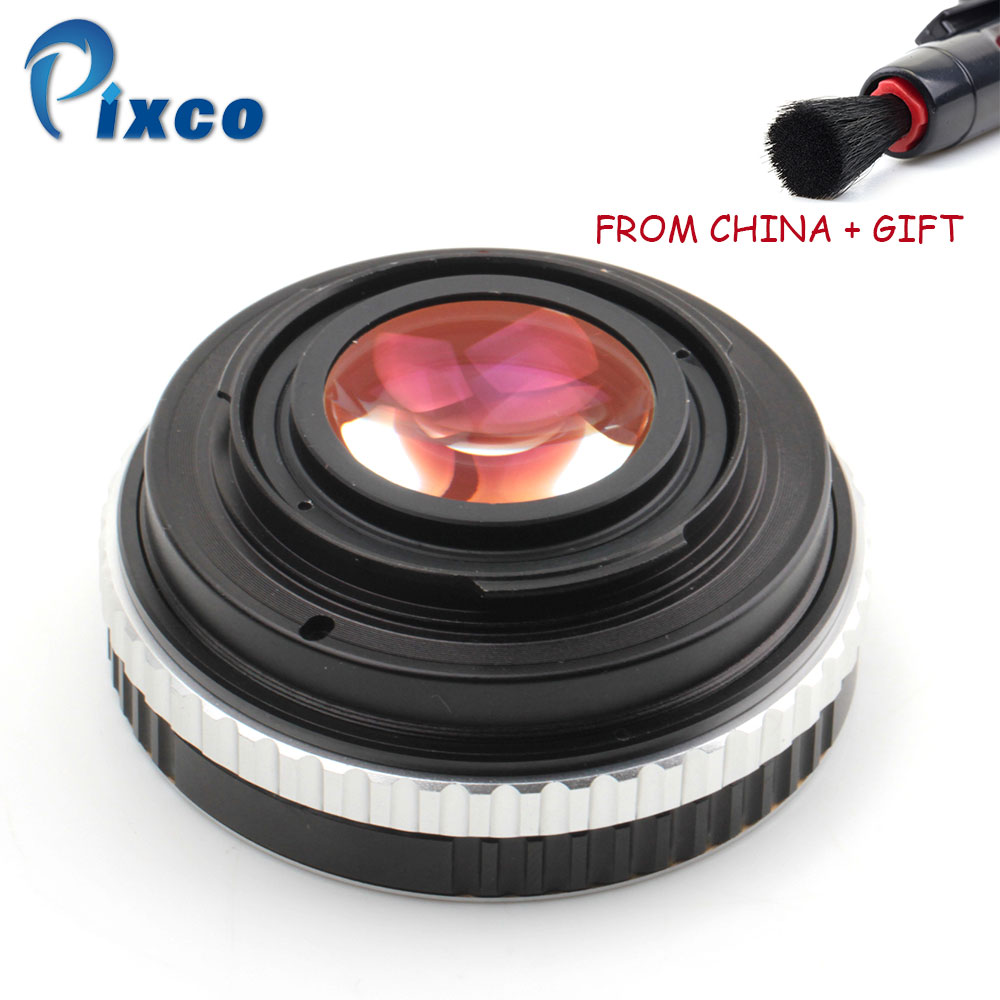 ADPLO 010998, For EOS-NEX Focal Reducer Speed Booster, Suit for EOS Lens to Suit for Sony E Mount NEX Camera DropShipping цена