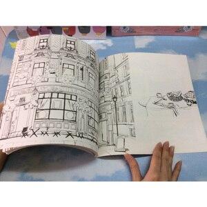 Image 4 - 84 Trang Hồn Tôi Du Lịch Sách Tô Màu Mật Phong Cách Tô Màu Giảm Căng Thẳng Giết Thời Gian Đồ Bộ Tranh Vẽ Sách