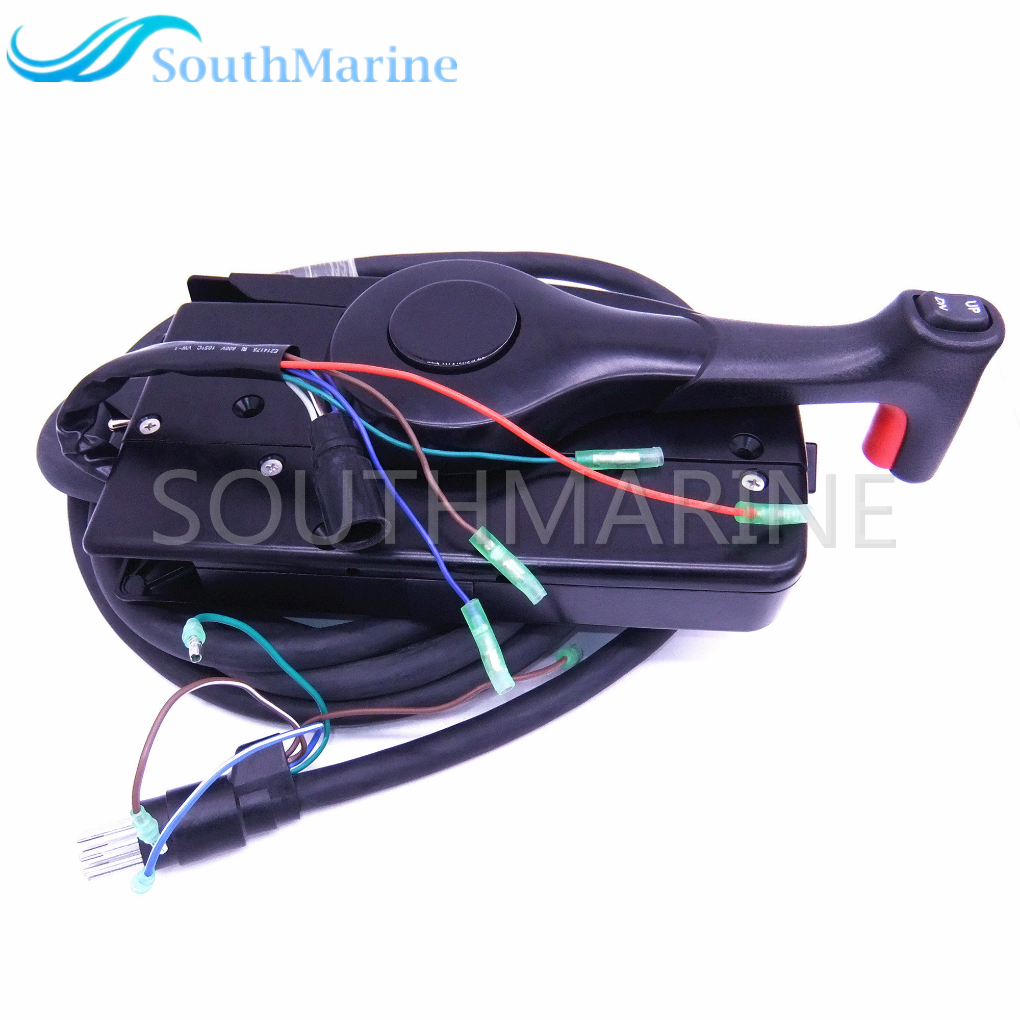 Boat Motor Side Mount Remote Control Box 881170A15 With 8 Pin for Mercury Outboard Engine PT Left Side, Free Shipping