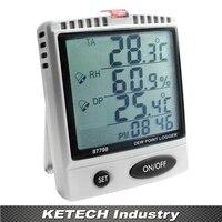 Точка росы тестер влажность Температура метр wbgt SD карты регистратор az-87798