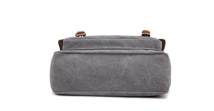 Micom Canvas Men Messenger Bags Vintage Shoulder Belt Bag Large Capacity Business Travel Bag Men\`s Canvas Crossbody Handbag New (21)