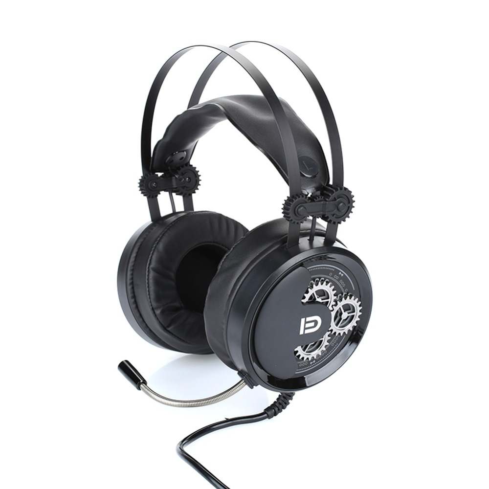 with Microphone Competitive Headset Laptop Music Relax Convenient Stereo PC Supplies Equipment Game Headphones Computer Headset