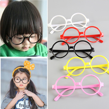 Harry Potter Cute Solid Plastic Round Children Spectacles Superestrella Baby Kids Glasses Frame Up Oculos Gafas Glasses Frame