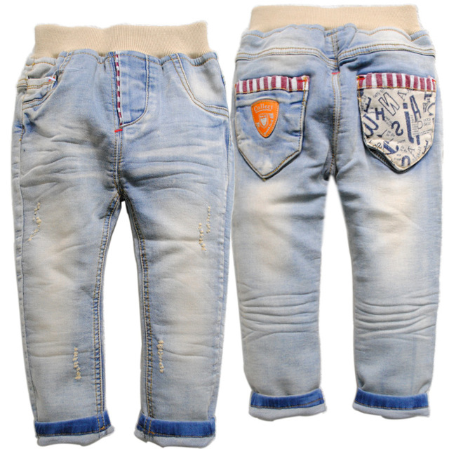 6474 baby jeans  baby soft denim pants spring baby boy trousers light  blue soft  2017 new kids clothing baby fashion