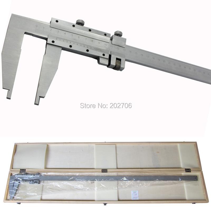 0-1000 мм сверхмощный штангенциркуль 1000 мм штангенциркуль слайдер суппорт без верхних челюстей