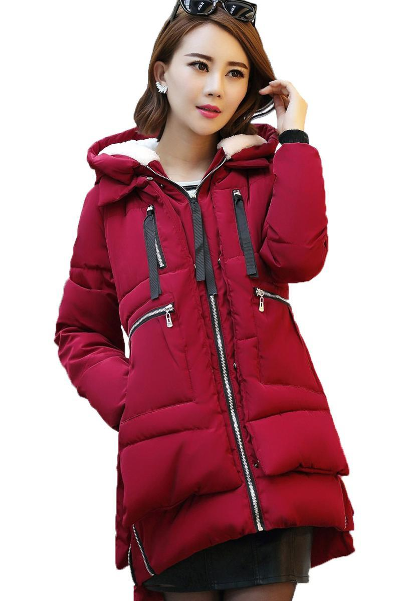 Popular Red Parka-Buy Cheap Red Parka lots from China Red Parka ...