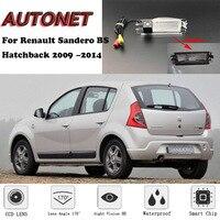 Cámara de visión trasera de respaldo para Renault Sandero BS Hatchback 2009 2010 2011 2012 2013 2014/cámara de aparcamiento o soporte|Cámara para vehículos| |  -