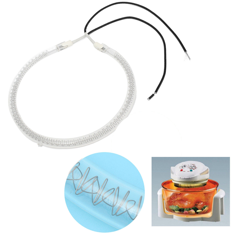 OSSIEAO 6 Inch 1250W-1450W Bulb Spare Parts Replacement Halogen Oven Heating Element