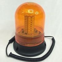 FGHGF 12V Car Magnetic Beacon Rotating Revolving Strobe Flash Warning Alarm LED Light Roadway Safety