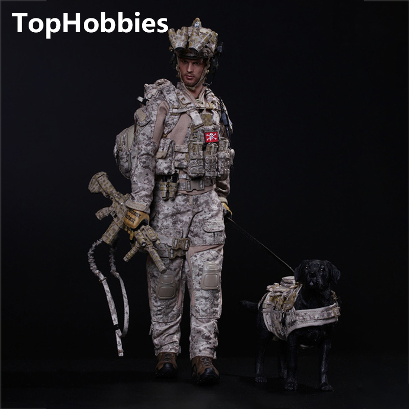 Estartek Mini Times Toys 1/6 M006 US Navy Seals Six HALO+Dog Collection 12 Inch Action Figure New Box new hot 18cm one piece donquixote doflamingo action figure toys doll collection christmas gift with box minge3