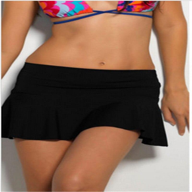 2017 Hot Sell Summer Bikini Bottom Tankini Swim Short Skirt Swimwear Cover Up Beach Short Mini Dress Bathing Swimwear W