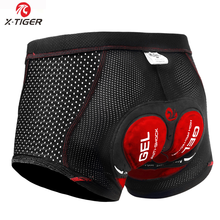 X-Tiger 2019 Upgrade Cycling Shorts Cycling Underwear Pro 5D Gel Pad  Shockproof Cycling Underpant Bicycle Shorts Bike Underwear e4fbdfe63