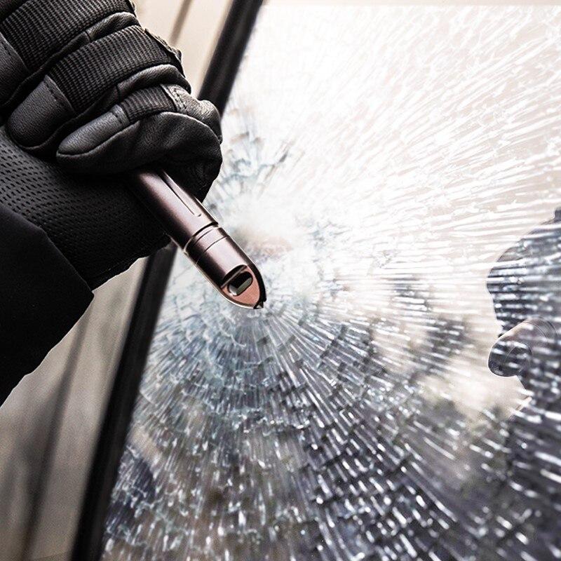Waterproof Warehouse Whistle Tungsten Steel Head Broken Window High-frequency Whistle Blasting Survival Attack Head Storage EDC