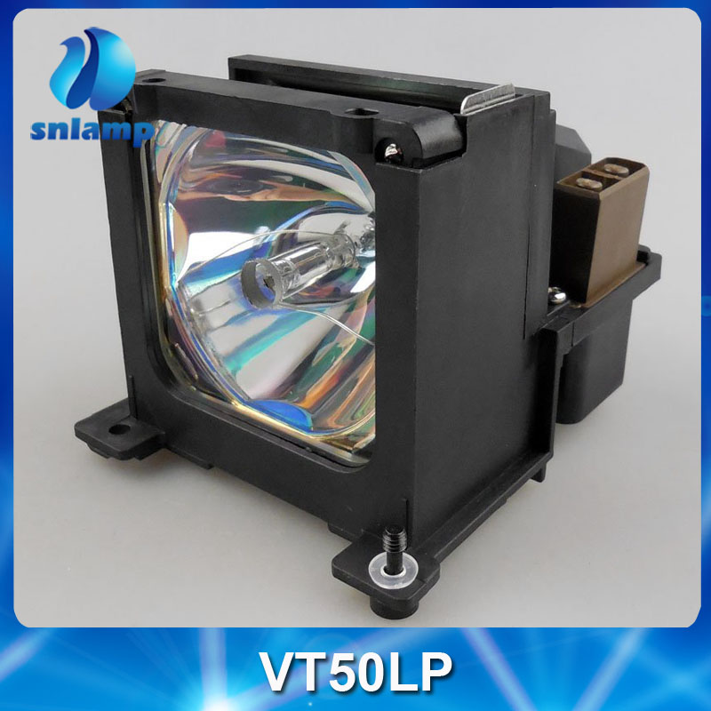 Replacement Projector Lamp VT50LP with housing for VT50/ VT650 free shipping compatible projector lamp for nec vt50lp 50021408 vt50 vt650