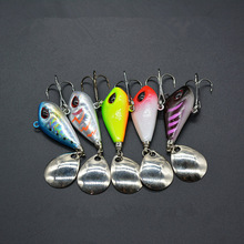 VIB Spoons Fishing Lure Rotation Long Range Casting Jigs 6g/10g/17g/25g Artificial Lures Freshwater Saltwater Bass