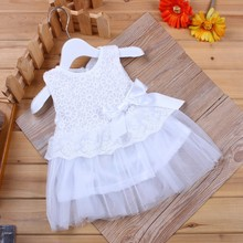 Baby Girl Dress Full Of Embroidary Flowers