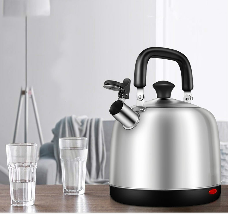 electric kettle thermoelectric water bottle 5l household 304 stainless steel automatic thermal insulation electric kett 5L electric kettle automatic household large capacity boiler power off 304 stainless steel water hanger