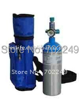 OUTDOOR SUPPLIES WATER BAG VOLUME Oxygen Cylinders 4L with mask and tube